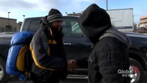 Bus shelter beating victim and Good Samaritan meet