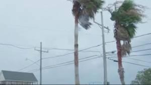 Hurricane Barry barrels down on Louisiana