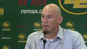 Edmonton Eskimos head coach talks about putting together new team