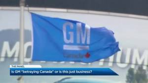 Is GM betraying Canada or is it just business?