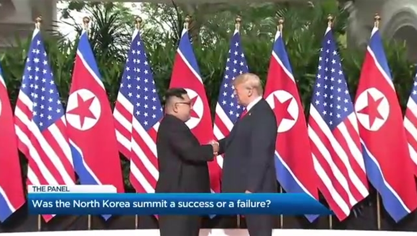 Trump heaps praise on 'tough guy' Kim Jong Un
