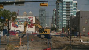 17 Avenue businesses hold block party to counter City of Calgary construction