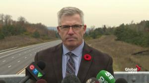 Technology exists to keep truck drivers more aware: OPP Commissioner on Hwy 400 crash