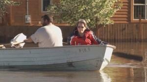 Images of Grand Forks flooding 2018
