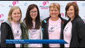 The Morning Show tees up the Promise Walk for preeclampsia