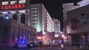 Police officer in critical condition, suspect dead following shootout outside Atlantic City casino
