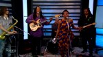 Tanika Charles performs in the TMS studio
