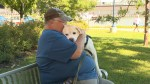 Canadian veteran explains the benefits of a service dog