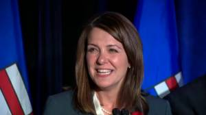 Wildrose leader Danielle Smith on byelection results