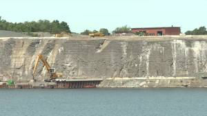 Equipment and aggregate to be removed from a portion of Picton Terminals after court ruling