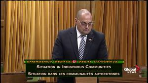 'Sadly, it takes a crisis to bring us all together': Conservative MP gives heart-wrenching speech on Attawapiskat