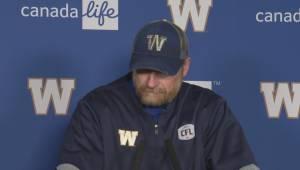 RAW: Blue Bombers Mike O'Shea Media Briefing – May 23