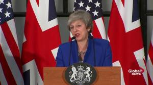 Theresa May hasn't got the credit she deserves on Brexit deal: Trump