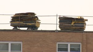 2 North York students in hospital after hot asphalt falls from roof