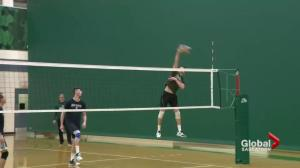 Saskatchewan Huskies men's volleyball team right in playoff mix