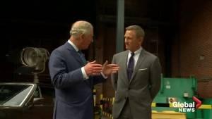 'Bond, James Bond': Prince Charles visits Daniel Craig on set of new 007 movie
