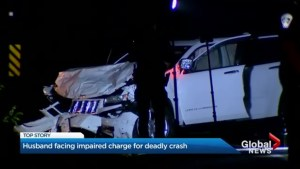 Husband facing impaired charge for deadly Oshawa crash