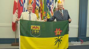 Saskatchewan flag pioneers meet for first time after 50 years
