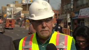 'This was an accident': Metrolinx, Crosslinx comment on scaffolding collapse
