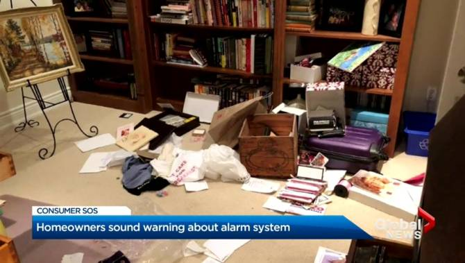 Ontario couple cleaned out after home alarm system fails