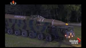 U.S. military conducts ICBM test as tensions with North Korea mount