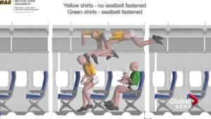Violent episode of turbulence triggers safety warnings