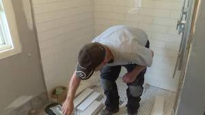 Perth Road couple gets wheelchair-accessible bathroom installed