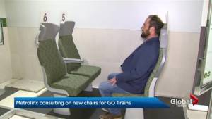 GO train polls riders about new seats