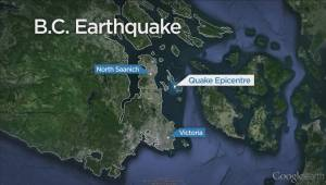 No damage, injuries reported after earthquake rattles B.C.'s South Coast