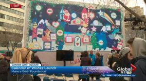 Make-a-Wish foundation launches advent calendar of wishes