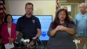 FEMA says water, food and generators provided to Hawaii islands