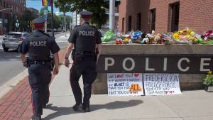 Nova Scotia boy sings rendition of 'Hallelujah' to remember Fredericton police officers killed during shooting