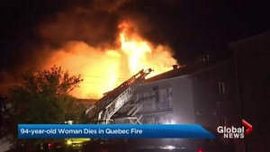 94-year-old woman killed in Quebec fire that may have been deliberately set