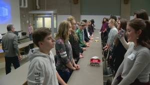 Hundreds of southern Alberta students learn leadership skills at Lethbridge conference