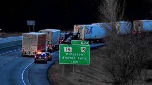 Pedestrian killed in early morning collision on Highway 401 in Kingston
