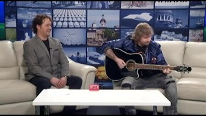 Albertan country singer Karac Hendriks performs live on The Morning Show