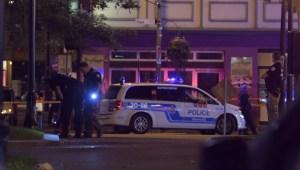 Raw: Shooting on Peel Street