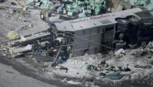 Hockey bus crash in Saskatchewan claims 15 lives