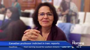 Canadian professor indicted in Iran: reports