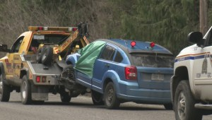 Driver arrested after Highway 97 shooting spree