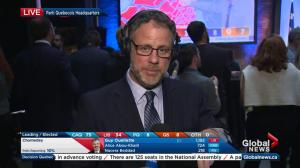 Quebec Election: PQ headquarters after CAQ declared majority winner