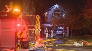 Chaparral fire destroys home, damages 2 others