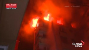 Firefighters battle deadly Paris apartment blaze