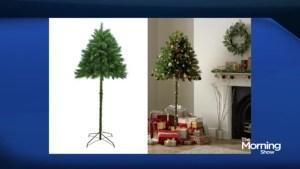 Would you buy half a Christmas tree?