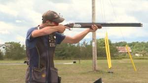 Napanee's Liam Swart is the Canadian Junior Trapshooting champion