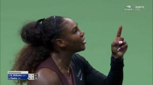 Serena Williams calls chair umpire 'thief' in outburst during US Open final