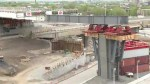 Work on St-Jacques overpass reaches 60 per cent mark