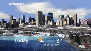 Edmonton early morning weather forecast: Wednesday, December 19, 2018