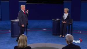 Presidential debate: Trump says Clinton blaming her lie on Abraham Lincoln
