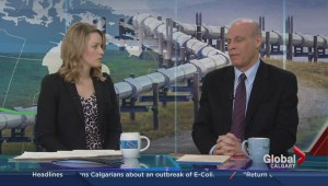 David Taras discusses potential pipeline controversy